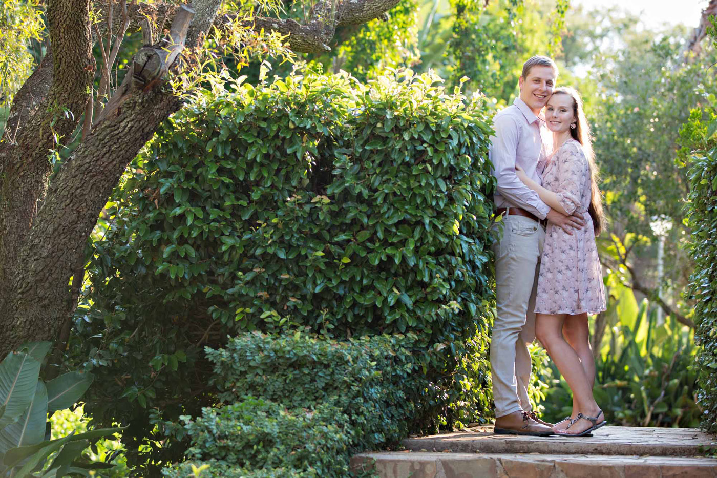 Alnet and Jacobus' Engagement shoot
